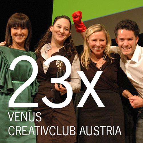 VENUS CREATIVCLUB AUSTRIA